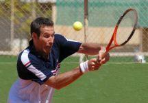 Sandor Noszaly gioca le qualificazioni nel circuito maggiore a 42 anni