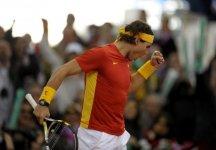 Coppa Davis – Finale – Spagna vs Argentina 3-1: Quinto Trionfo per la Spagna. Rafael Nadal regala il punto decisivo agli iberici dopo una bellissima sfida con Del Potro