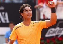 Masters 1000 – Roma: Sesta vittoria al Foro Italico per Rafael Nadal. Lo spagnolo scavalca Federer e si riprende il n.2 del mondo