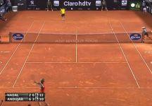 Video del Giorno: L'incredibile tiebreak tra Rafael Nadal e Pablo Andujar a Rio de Janeiro