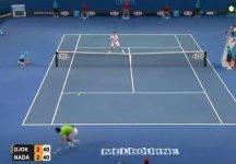 Video del Giorno: Recupero spettacolare di Rafael Nadal