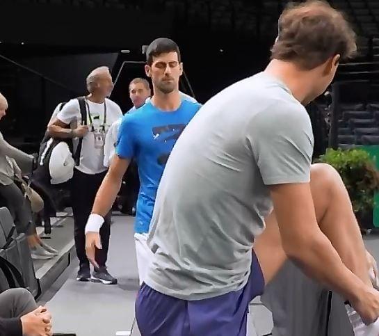 Novak Djokovic e Rafael Nadal nella foto