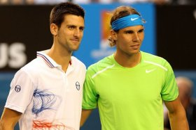 La finale maschile tra Novak Djokovic e Rafael Nadal