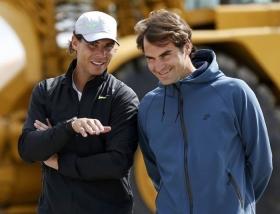 Roger Federer e Rafael Nadal si sfideranno nella notte italiana
