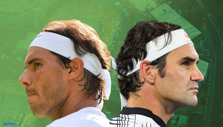 Rafael Nadal e Roger Federer nella foto