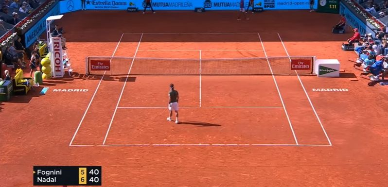 Video del Giorno: Il successo di Rafael Nadal su Fabio Fognini a Madrid