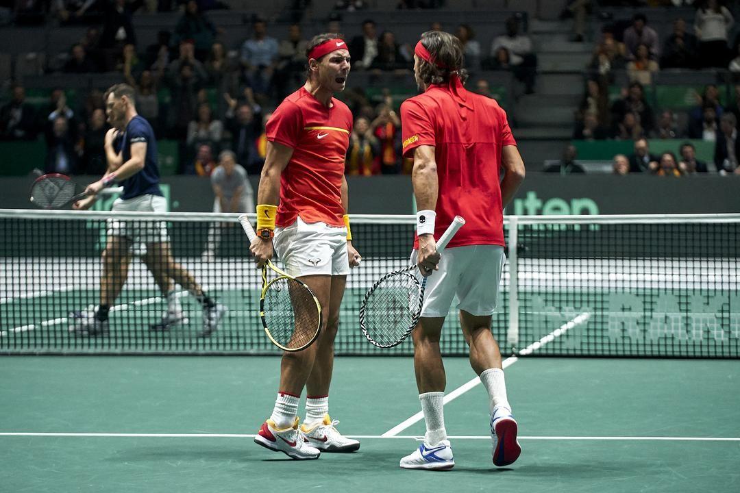 Rafael Nadal e Feliciano Lopez (Photo by Jose Manuel Alvarez / Kosmos Tennis)