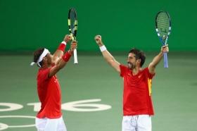 Rafael Nadal ai campionati di Spagna. Giocherà il doppio