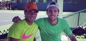 Una settimana di allenamenti insieme per Nadal e Sousa