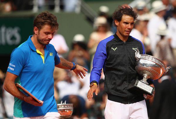 Rafael Nadal e Stan Wawrinka