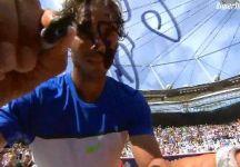 ATP Amburgo: Rafael Nadal conquista il 67 esimo successo nel circuito ATP. Battuto Fabio Fognini con un doppio 75 dopo una bella partita