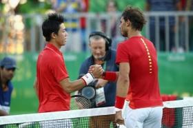 Rafael Nadal e Kei Nishikori