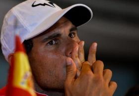Rafael Nadal è al momento il sesto giocatore della classifica mondiale.