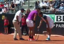 Video del Giorno: Rafael Nadal corre subito da Almagro dopo l'infortunio