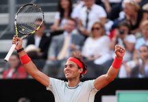 Masters 1000 – Roma: Federer non pervenuto. Rafael Nadal piazza la settima vittoria al Foro Italico. Da domani sarà nuovamente al n.4 del mondo