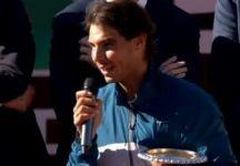 Video del Giorno: Rafael Nadal Trionfa nel torneo di Roma (Compresa premiazione e dichiarazioni dei giocatori)