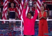 Video del Giorno: Rafael Nadal domina Kevin Anderson nella finale degli Us Open