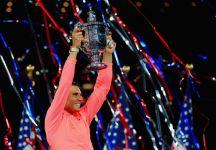 """Us Open: Parlano Rafael Nadal e Kevin Anderson. Nadal """"Siamo più vicini ora io e Roger, ma è passato un altro anno, lui ne ha 19 e io 16. Tre è una grande differenza"""""""