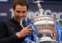 Il trofeo da 13 kg di Rafael Nadal