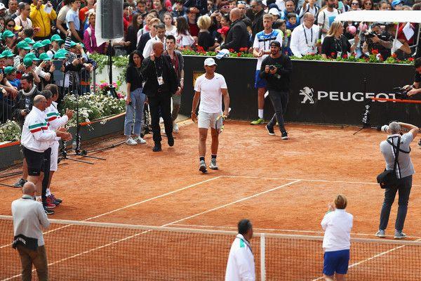Internazionali: Nadal passeggia contro Dzumhur, eliminato Isner