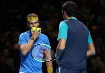"""Rafael Nadal ritorna in campo al FAST4: """"Ho bisogno di un po' più di ritmo, ma è stato un buon ritorno e giocare davanti al pubblico è fantastico"""" (VIDEO)"""