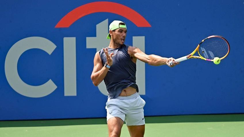 Rafael Nadal nella foto