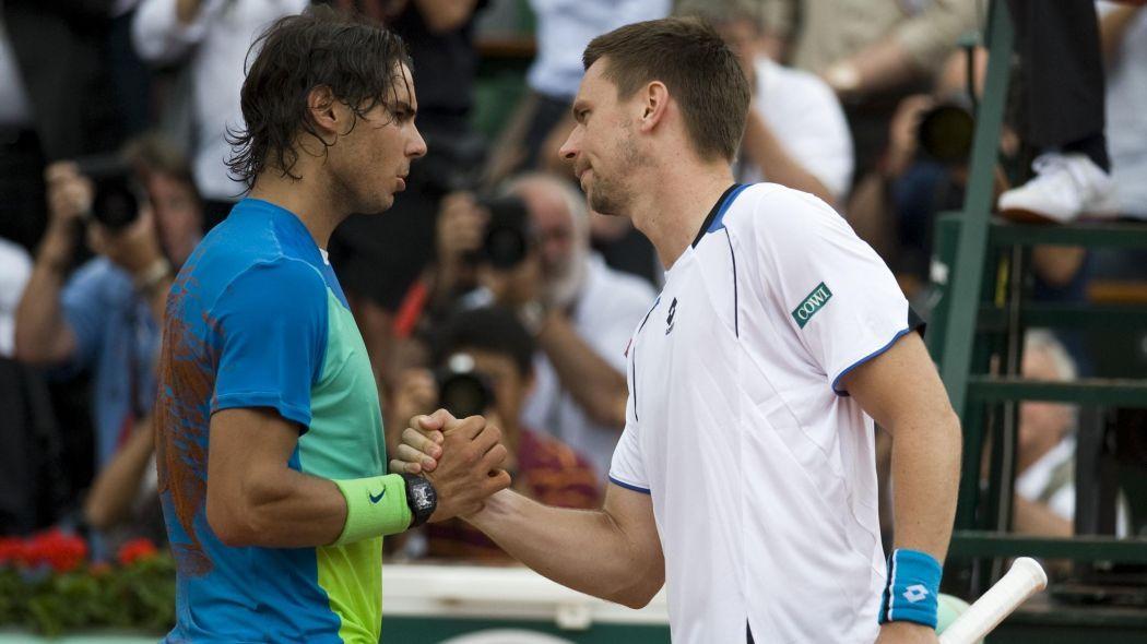Rafael Nadal e Robin Soderling
