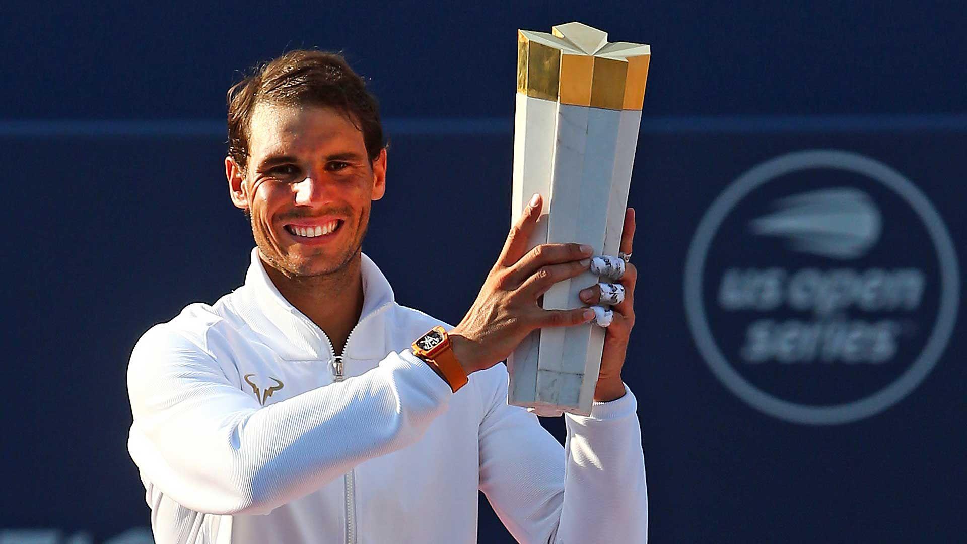 Quello di Toronto per Rafael Nadal è il titolo n.80 in carriera.