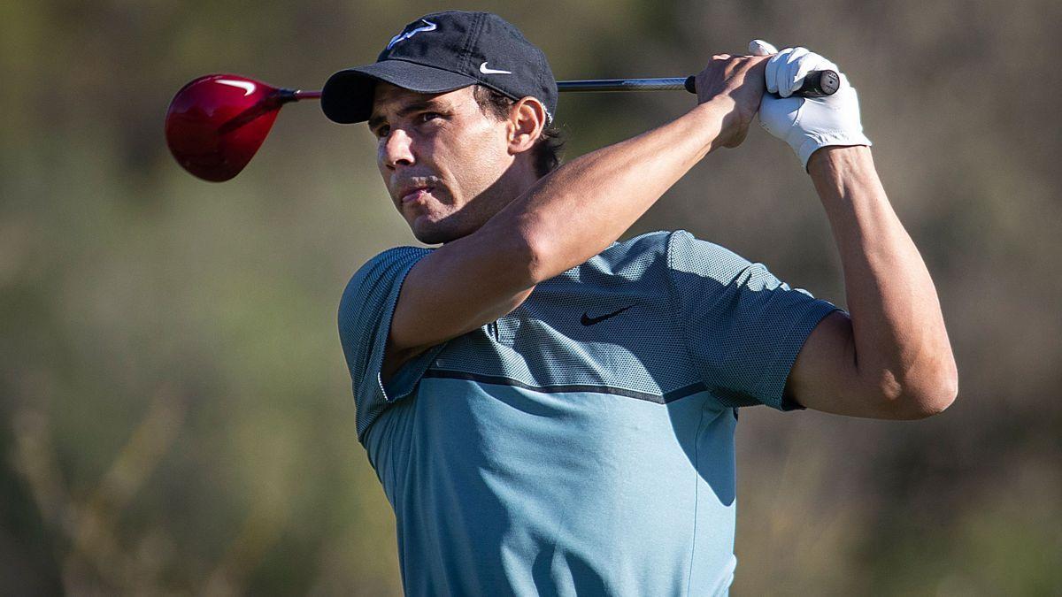 Rafa Nadal, grande appassionato di golf