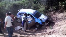 <strong>David Nalbandian</strong> è stato coinvolto in uno spettacolare incidente in auto, ma per fortuna nessuno si è fatto male.