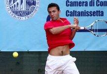 Challenger Caltanissetta: Gianluca Naso batte Simone Vagnozzi e centra i quarti di finale