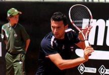 Challenger Genova: Gianluca Naso si arrende ai quarti di finale. Fuori tutti gli azzurri dal torneo ligure