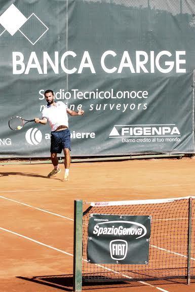 Gianluca Naso nella foto