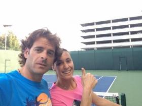 Salvador Navarro lavora con Romina Oprandi a Rio de Janeiro