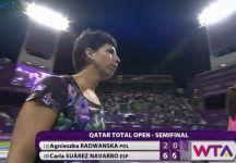 WTA Doha: Risultati Semifinali. Errani in finale in doppio. Sfortuna Petkovic che si fa male. Finale tra Suarez Navarro e Ostapenko
