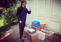 Cibo ai ragazzi poveri per ogni Ace, tennis & solidarietà da un promettente junior argentino