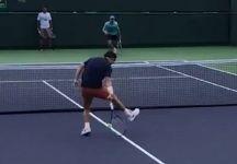 Video del Giorno: Il colpo da sotto di Kei Nishikori