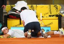 Problemi alla schiena per Kei Nishikori. Il giapponese potrebbe non disputare la finale a Madrid contro Rafael Nadal