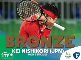 Kei Nishikori bronzo a Rio