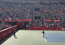 9 mila persone per un allenamento di Kei Nishikori (Video)