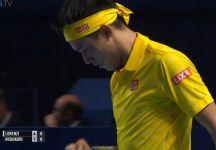 Kei Nishikori si allena e l'obiettivo è Brisbane