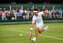 Marco Cecchinato racimola solo quattro giochi contro Nishikori e saluta Wimbledon al primo turno