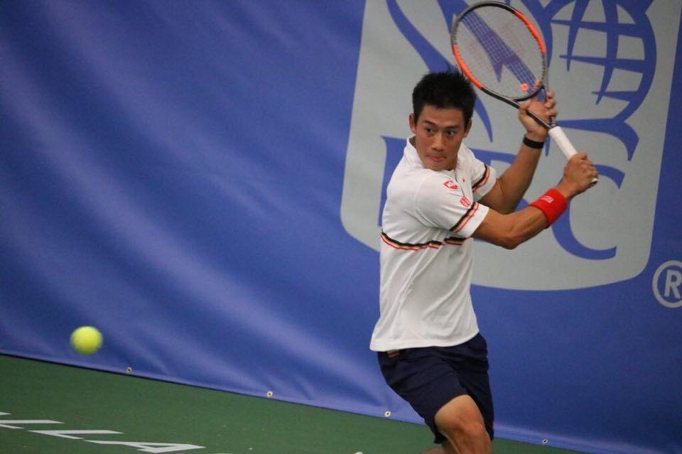 Kei Nishikori nella foto