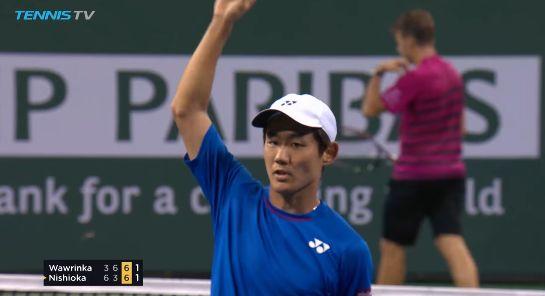 Yoshihito Nishioka classe 1995 e n.70 ATP