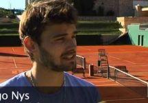 """Hugo Nys parla del fenomeno del tennis scommesse: """"Qualcuno potrebbe non credere che sia un fenomeno così diffuso. Mi sono stati offerti 1.500-2.000 euro per perdere una finale."""""""