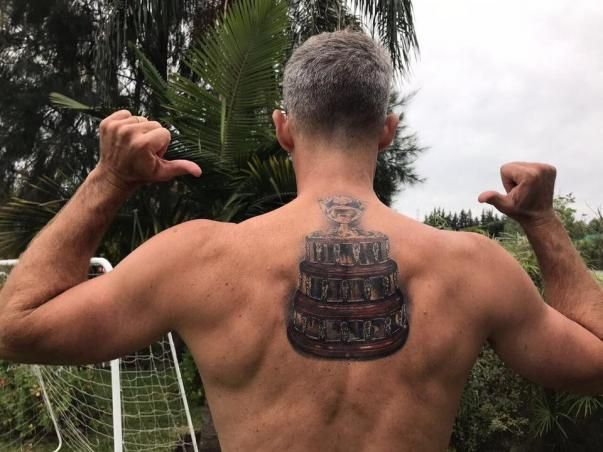 Il tatuaggio di Daniel Orsanic
