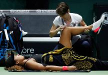 WTA Finals Singapore: LIVE i risultati del Day 6. Bene Stephens. La Osaka si ritira. Bertens in semifinale. Ecco le semifinaliste