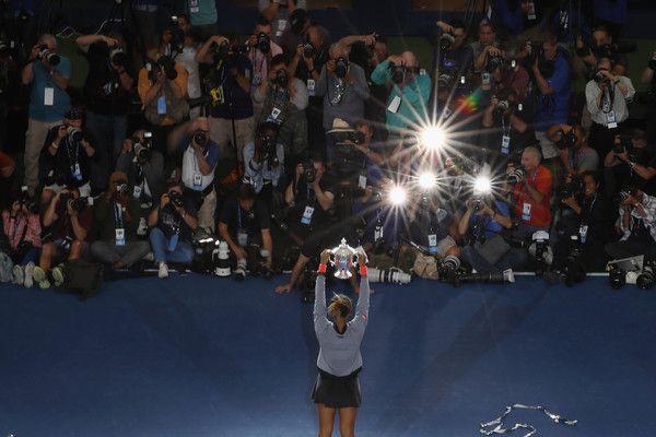Naomi Osaka nella foto