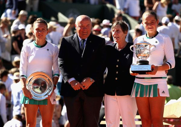La vincitrice e la finalista del Roland Garros 2017