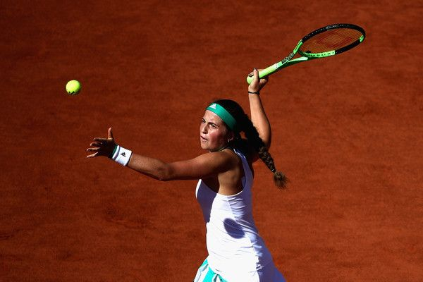 Risultati dal Roland Garros - Jelena Ostapenko nella foto